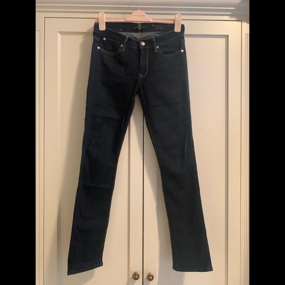 NWT 7 For All Mankind Jeans 24 28 29 31 Seven The Boyfriend Fit Slim Leg Denim